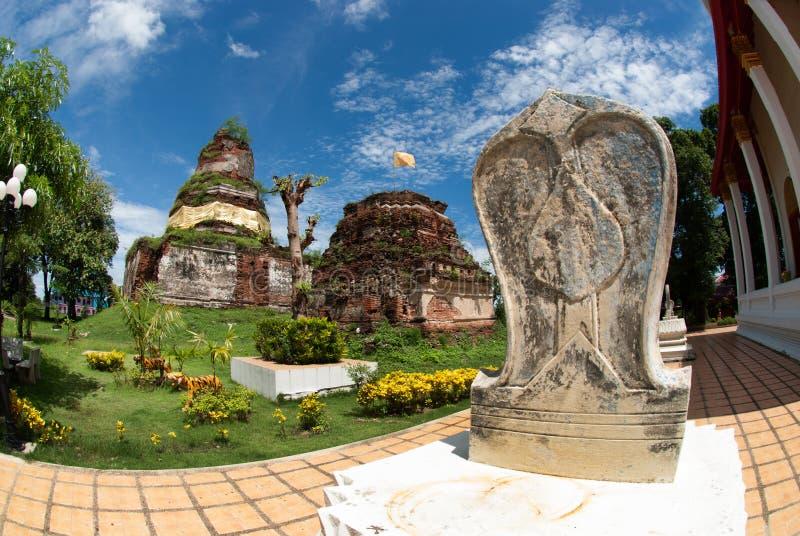 Wat Ayothaya старая цивилизация Сиама Ayutthaya стоковые фотографии rf
