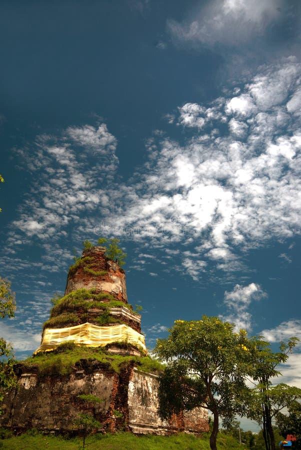 Wat Ayothaya старая цивилизация Сиама Ayutthaya стоковые изображения