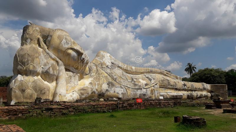 wat ayutthaya στοκ εικόνες με δικαίωμα ελεύθερης χρήσης