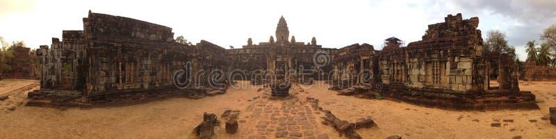 Wat Bakong Siem Przeprowadza żniwa Kambodża Antyczny Angkor zdjęcia stock