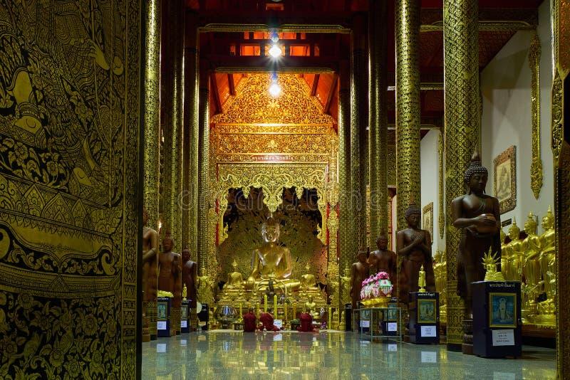 Wat Ban hålatempel eller Wat Den Salee Sri Muangkaen i Chiang Mai royaltyfri bild