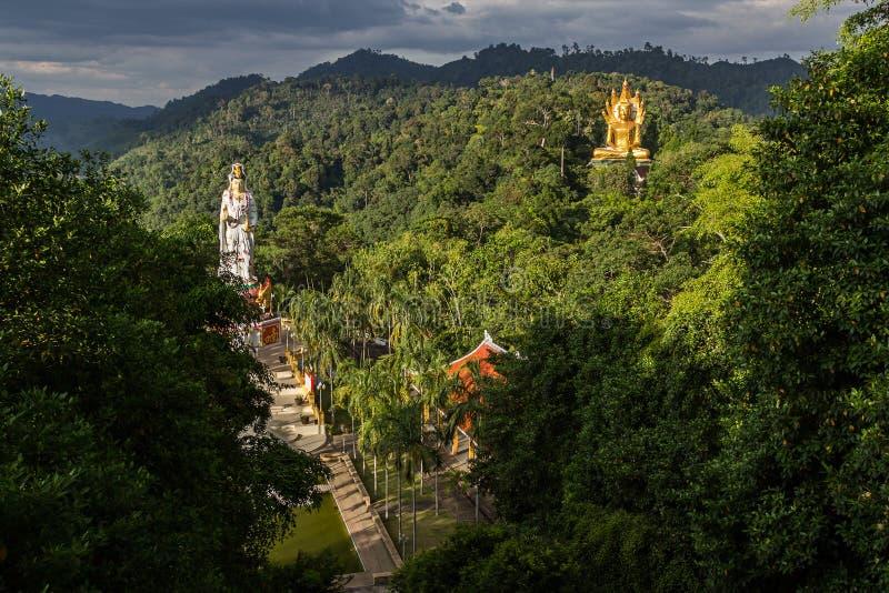 Wat Bang Riang in Thailand, Asien stockfoto