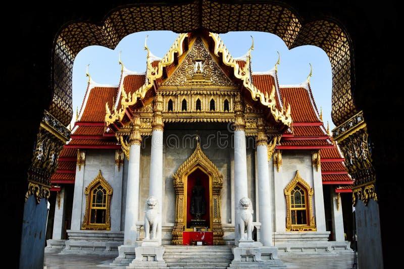Wat Benchamabophit стоковое фото