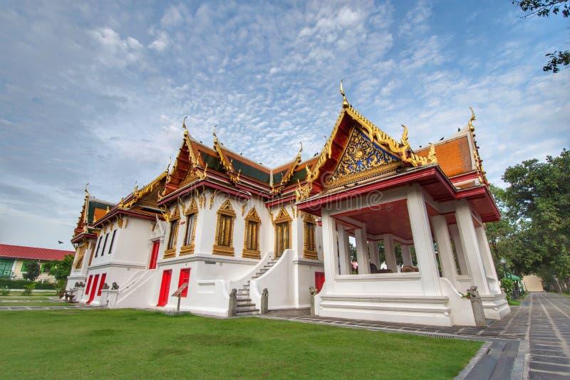 Wat Benchamabophit in Bangkok Thailand royalty-vrije stock foto's