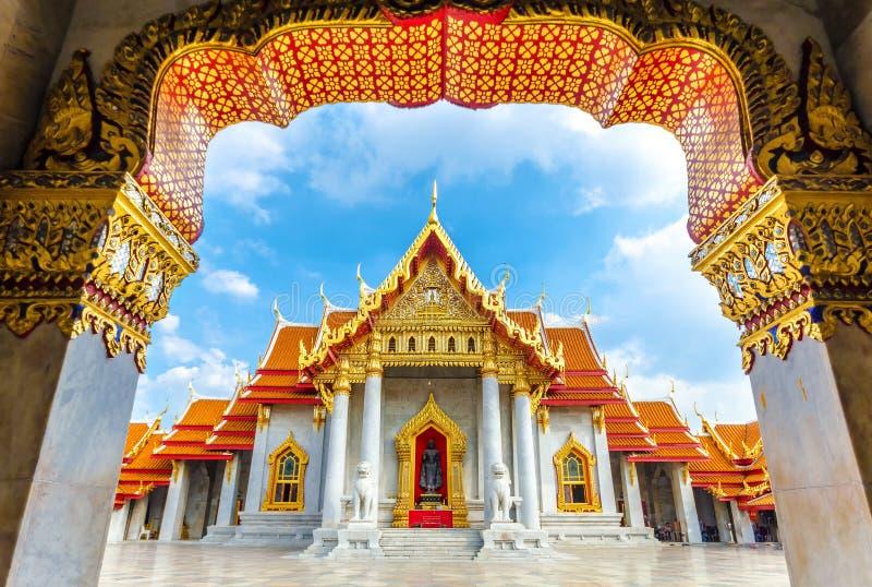 Wat Benchamabophit, Bangkok, Thailand stockfotografie