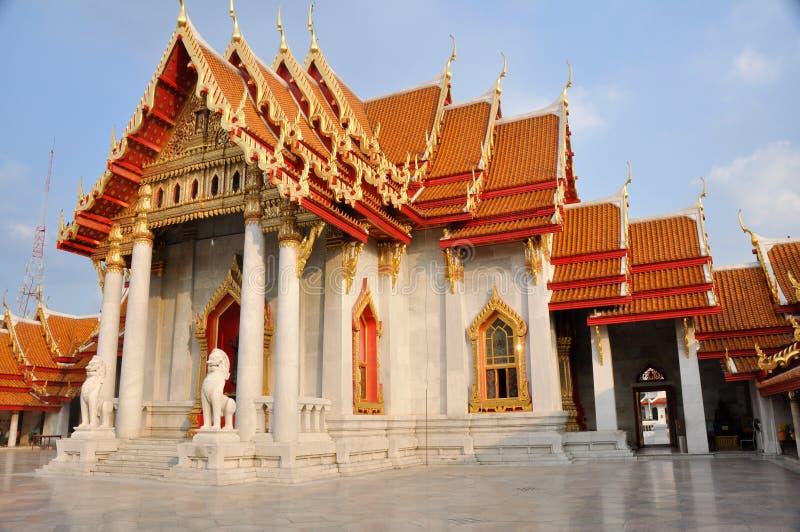 Wat Benchamabophit, Banguecoque fotos de stock royalty free