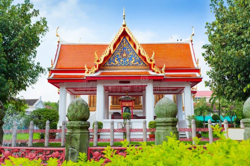 Wat Benchamabophit, pavillon de quatre princesses, Bangkok, Thaïlande photographie stock libre de droits