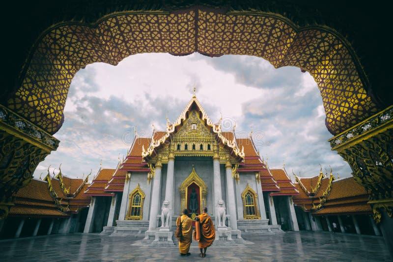 Wat Benchamabopitr foto de archivo