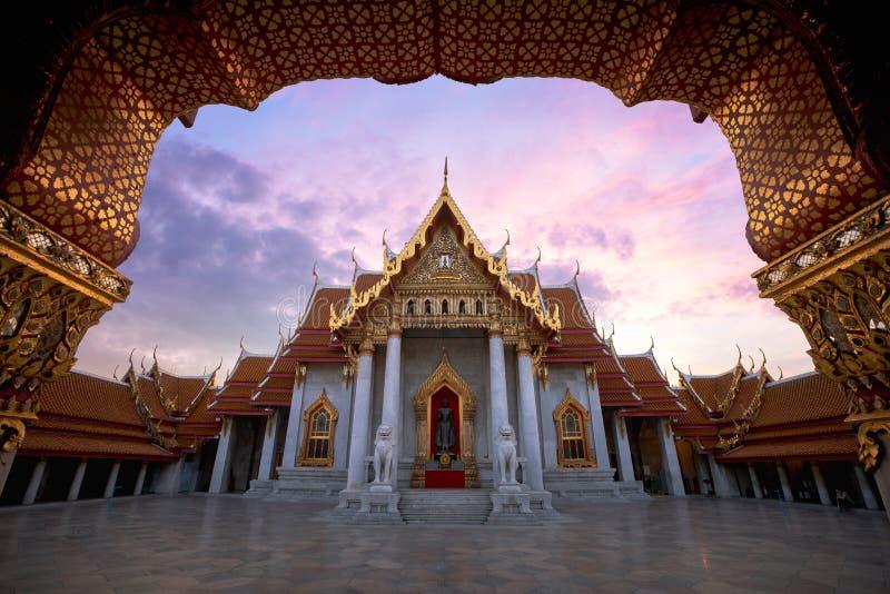 Wat Benchamabopitr fotografía de archivo libre de regalías