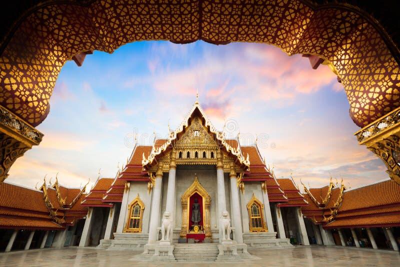 Wat Benchamabopitr imágenes de archivo libres de regalías