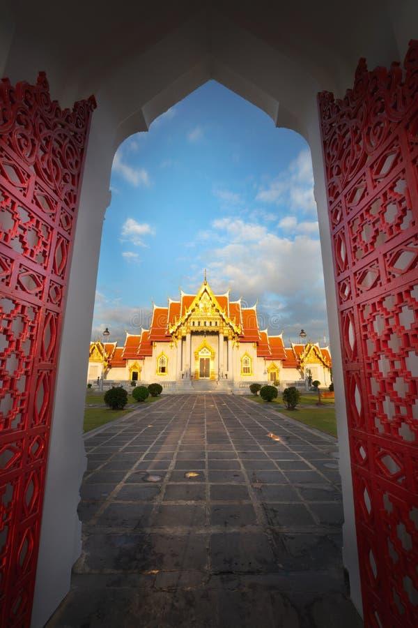 Wat Benchamabopitr fotografía de archivo