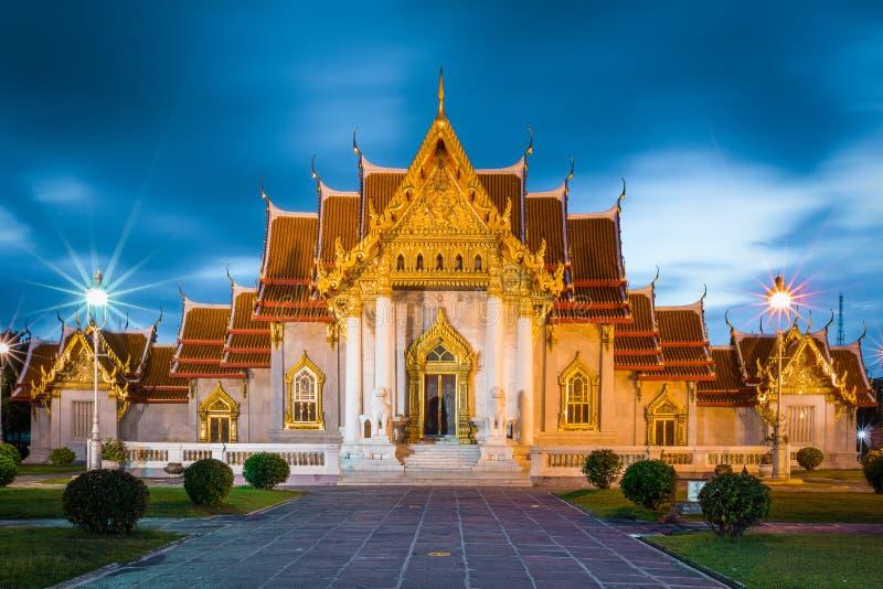 Wat Benjamaborphit imagens de stock royalty free