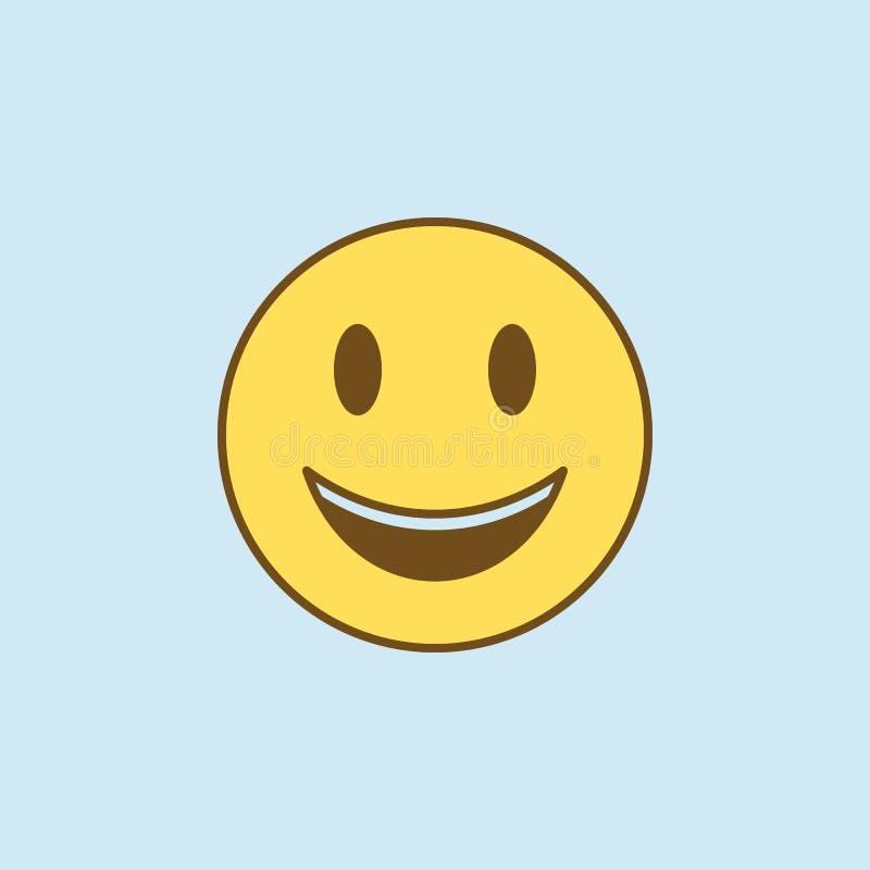 wat betreft 2 rassenbarrièrepictogram Eenvoudige gele en bruine elementenillustratie wat betreft het symboolontwerp van het conce royalty-vrije illustratie