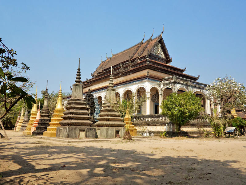 Download Wat Bo temple stock image. Image of buddhism, religion - 29414743