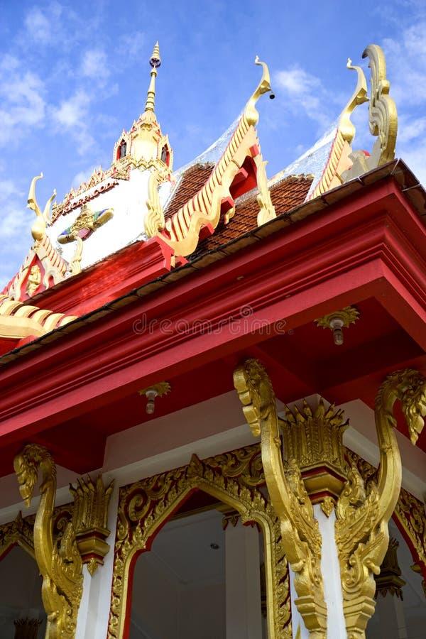 Wat Buppharam Rice Pagoda royalty free stock images
