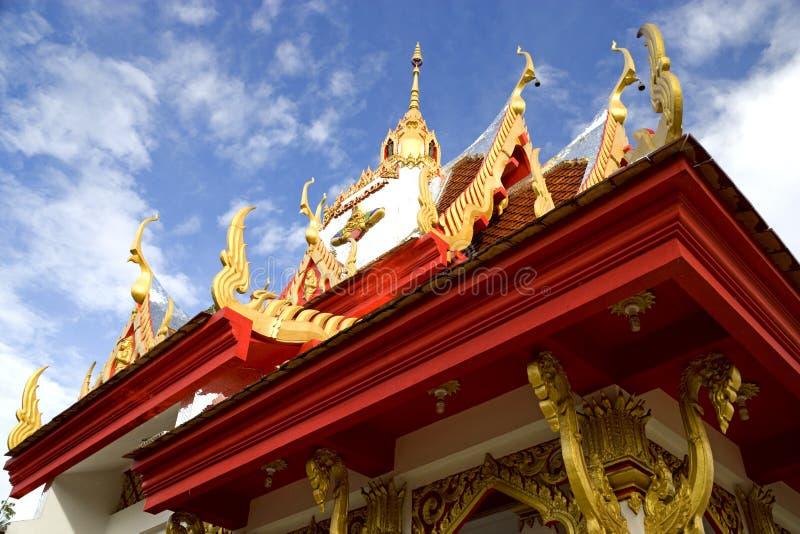 Wat Buppharam Rice Pagoda stock photo