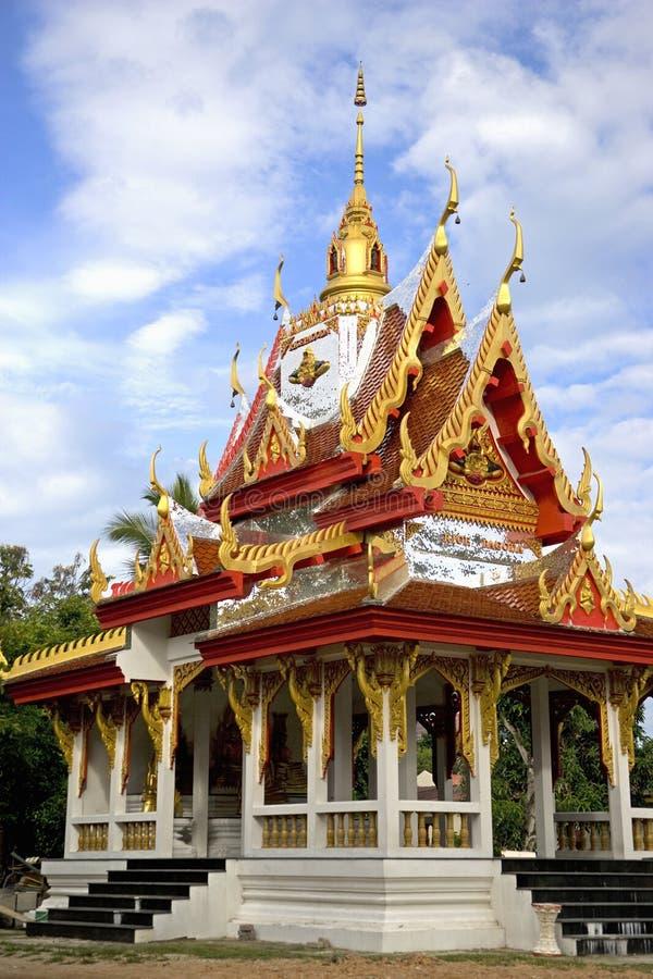 Wat Buppharam Rice Pagoda royalty free stock photo