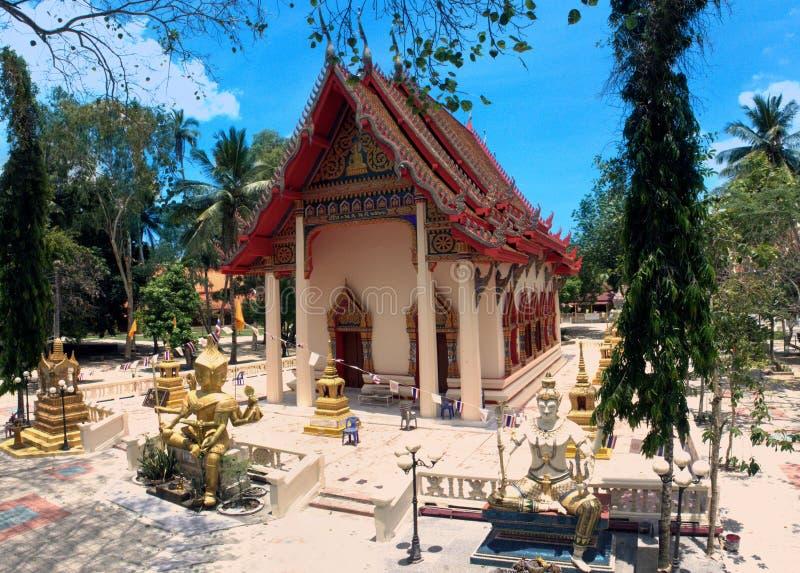 Wat Chaeng, tempio di Naton, Koh Samui, Tailandia fotografia stock libera da diritti