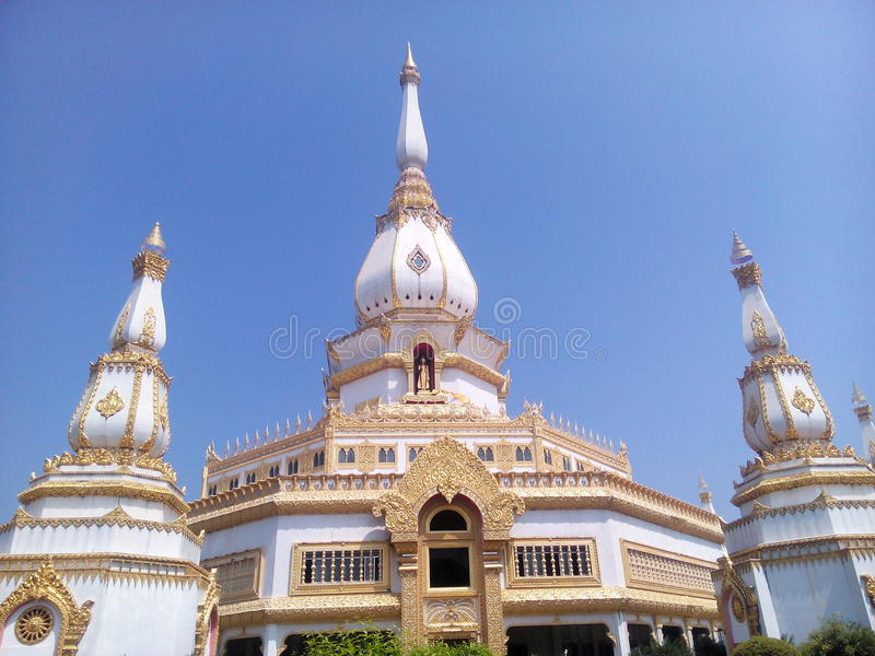 Wat Chai Mongkhon. Tourism Holy Places faith anchor relics Nature respect worship the Wednesday location Industry Optical Sculpture architecture historic site royalty free stock images