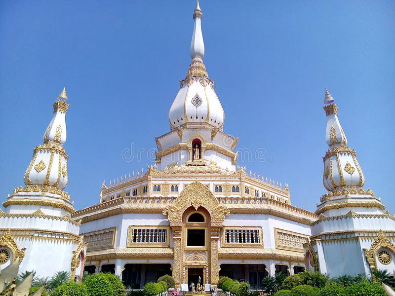 Wat Chai Mongkhon. Tourism Holy Places faith anchor relics Nature respect worship the Wednesday location Industry Optical Sculpture architecture historic site stock photo