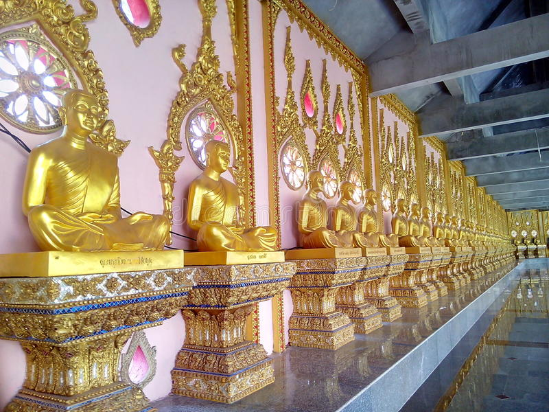 Wat Chai Mongkhon. Tourism Holy Places faith anchor relics Nature respect worship the Wednesday location Industry Optical Sculpture architecture historic site stock photography