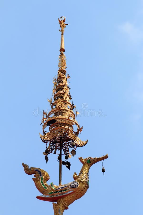 Wat Chai Mongkon - temple bouddhiste, Chiang Mai Thailand photo stock