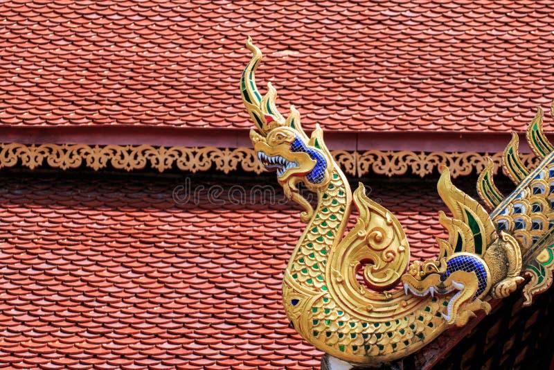 Wat Chai Mongkon - temple bouddhiste, Chiang Mai Thailand images libres de droits