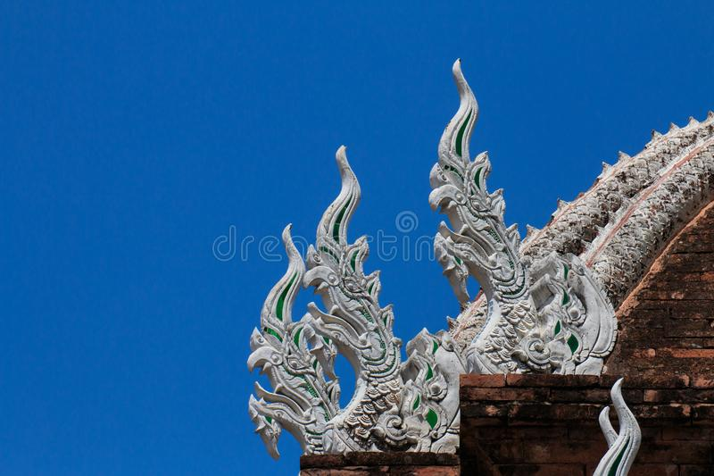 Wat Chai Mongkon - temple bouddhiste, Chiang Mai Thailand photo libre de droits