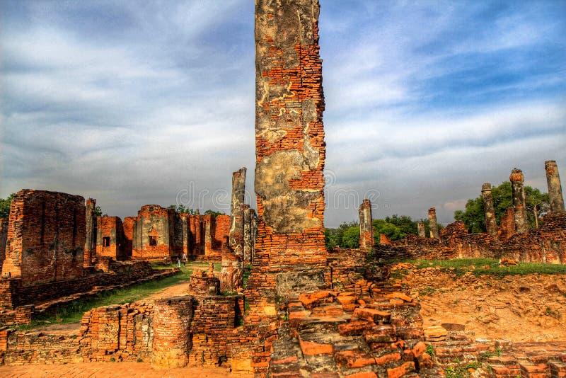Wat Chai Watthanaram à Ayutthaya photo stock