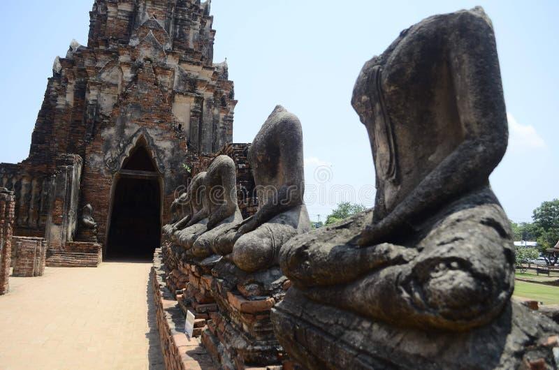 Wat Chaiwatanaram fotografia royalty free