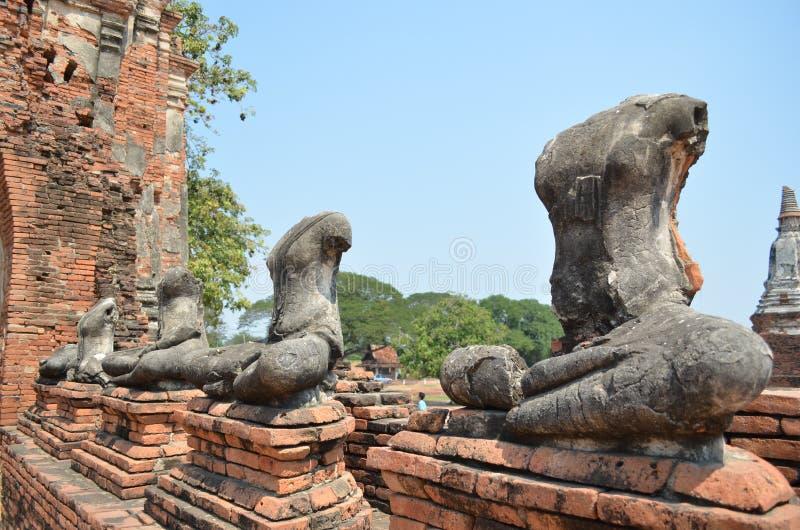 Wat Chaiwatthana Ram immagine stock