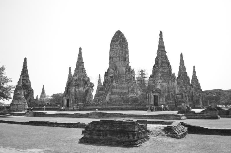 Wat Chaiwatthana Ram fotografia stock libera da diritti
