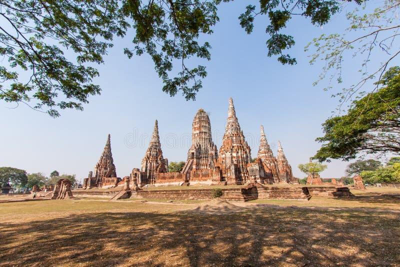 Download Wat-chaiwatthanaram阿尤特拉利夫雷斯泰国 库存照片 - 图片 包括有 废墟, 的btu: 30327770
