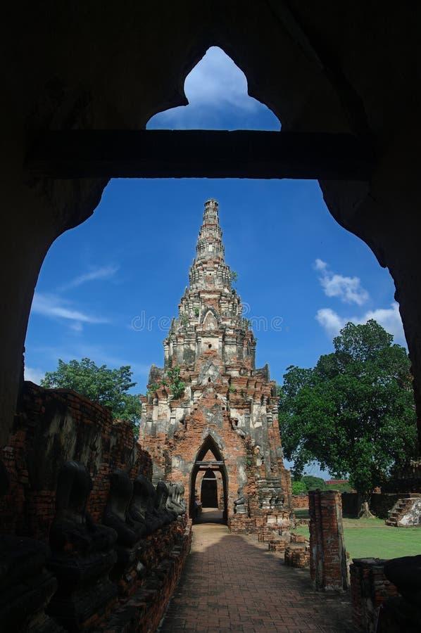 Download Wat Chaiwatthanaram stock image. Image of chaiwatthanaram - 16541791