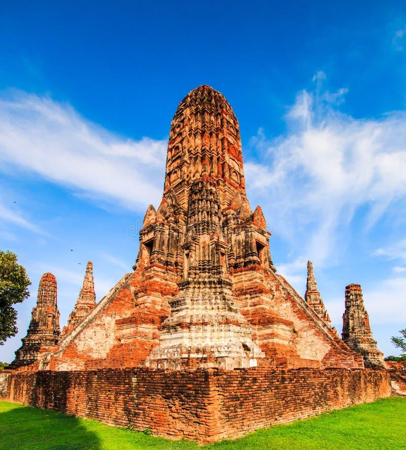 Wat Chaiwatthanaram 库存图片