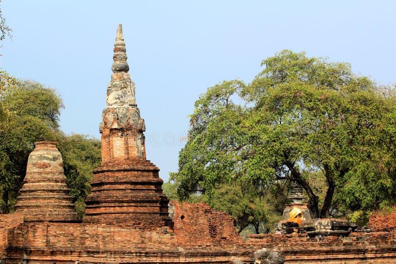 Wat Chaiwatthanaram Ayutthaya lizenzfreie stockbilder