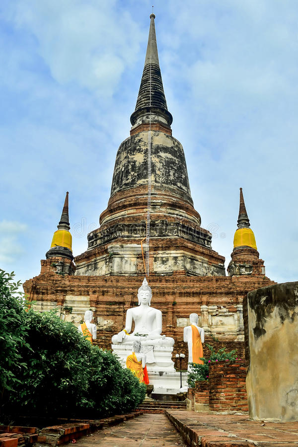Wat chaiwatthanaram stock image