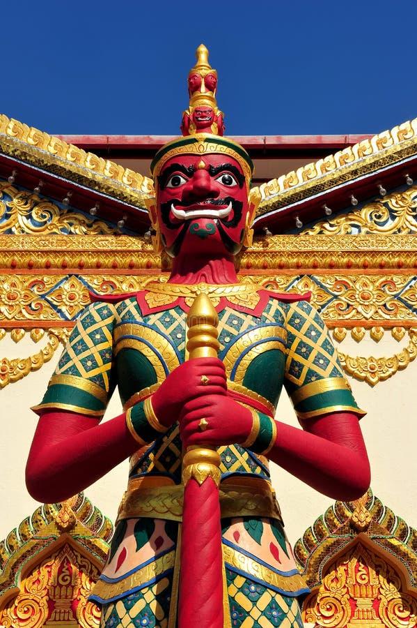 Wat Chaiya Mangkalaram stockbild