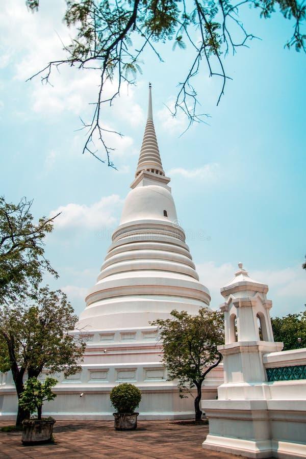 Wat Chalerm Phrakait Pagoda thailand lizenzfreies stockfoto