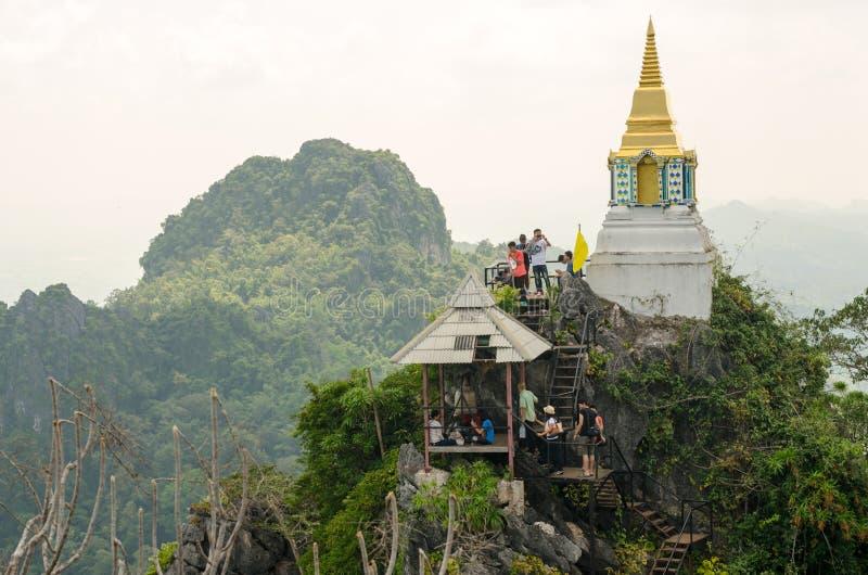 Wat Chalermprakiat на провинции Lampang, Таиланде стоковое изображение