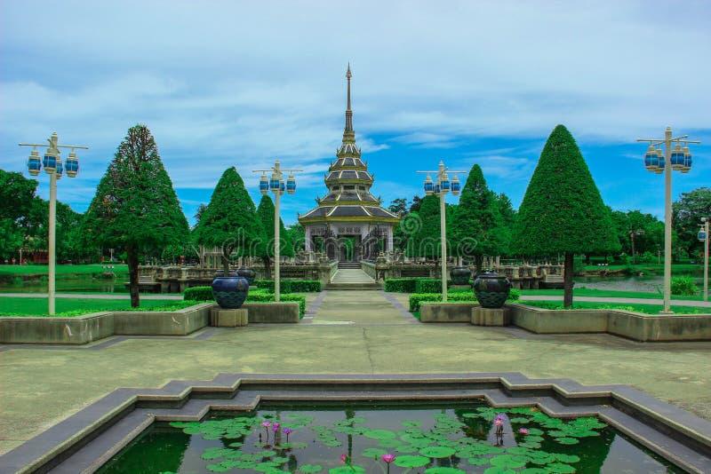 Wat Chaloem Phrakiat fotografia stock libera da diritti