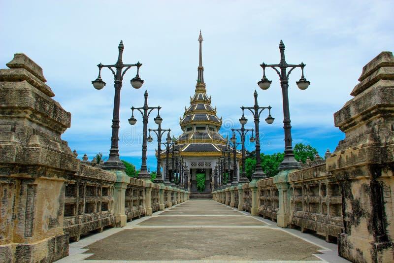 Wat Chaloem Phrakiat immagini stock libere da diritti