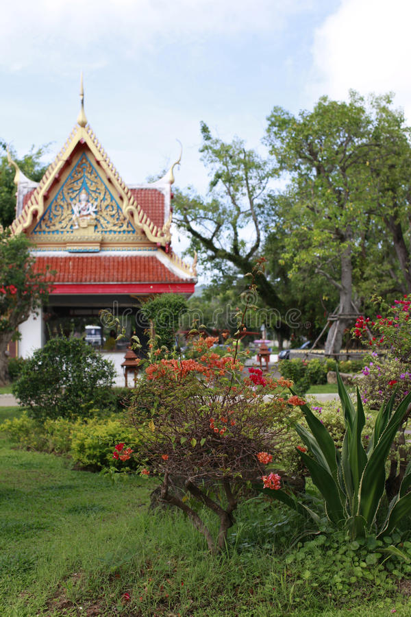 Download Wat Chalong stock image. Image of bangkok, buddhism, rustic - 24780485