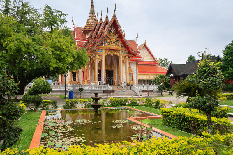 Wat Chalong images stock