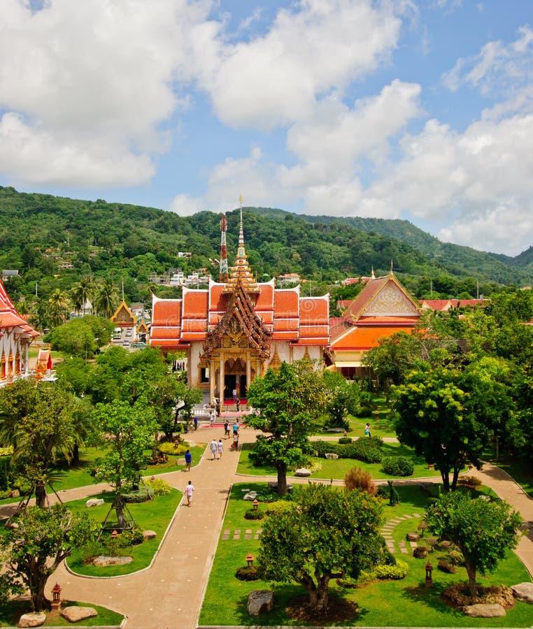 Wat Chalong photo libre de droits