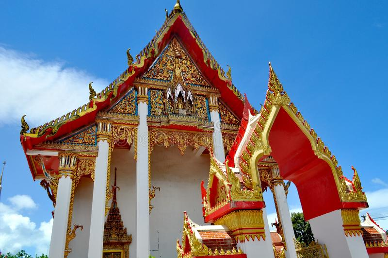 Wat Chalong Phuket Tailandia fotografía de archivo