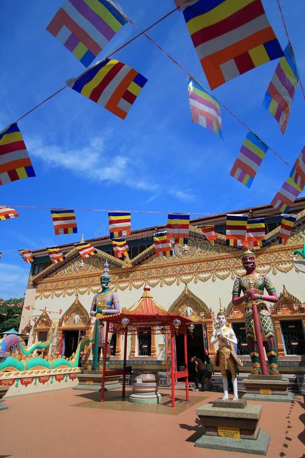 Wat-Chaya mang kalaram lizenzfreies stockbild