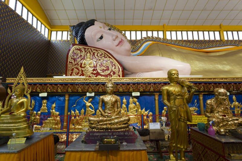 Wat Chayamangkalaram Джорджтаун Penang Малайзия стоковые фото