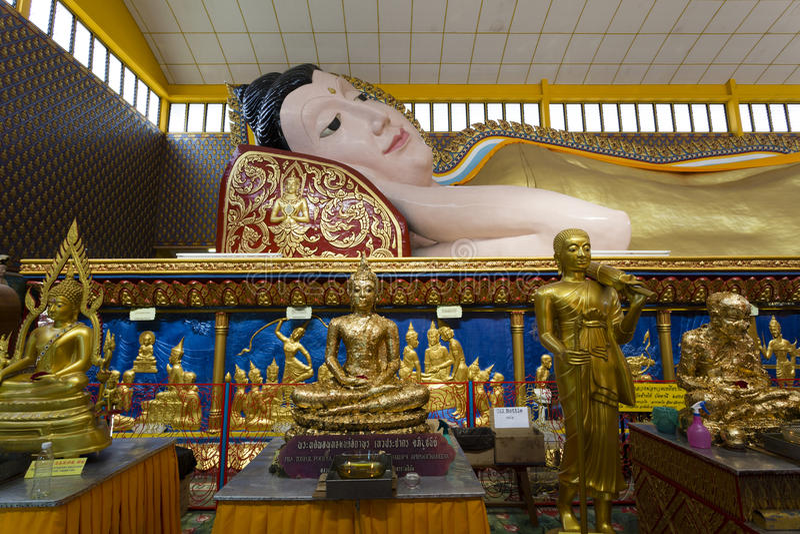 Wat Chayamangkalaram Georgetown Penang Malaysia arkivfoton