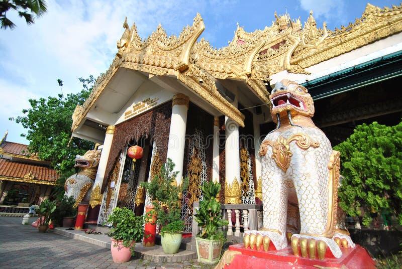 Wat Chayamangkalaram Penang fotos de archivo